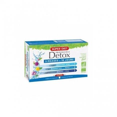 Superdiet Protocole Détox Bio 30 Ampoules pas cher, discount