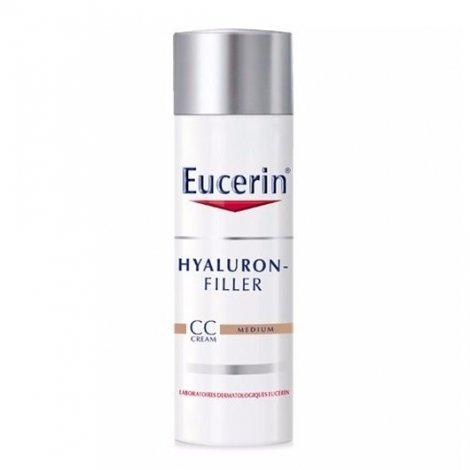Eucerin Hyaluron Filler CC Cream Medium 50 ml pas cher, discount