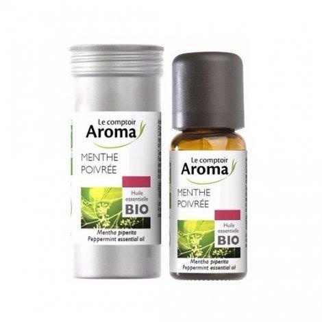 Huile Essentielle Menthe Poivrée Le Comptoir Aroma 10 ml pas cher, discount