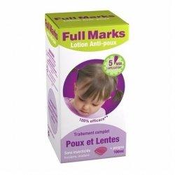 Full Marks Lotion Anti-poux et Lentes 100 ml + Peigne pas cher, discount