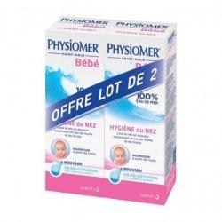 Physiomer Bébé Hygiène du Nez 2x115 ml pas cher, discount
