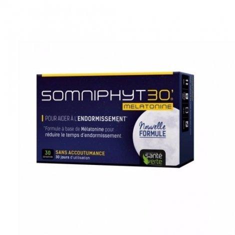 Santé Verte Somniphyt 30 Sommeil Mélatonine x30 Comprimés pas cher, discount