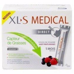 XLS Medical Capteur De Graisses Fruits Rouges 90 Sticks pas cher, discount