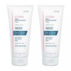 Ducray Ictyane Crème Anti-Dessèchement 2x200ml