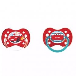 Dodie Cars Duo Tétines + 6 Mois
