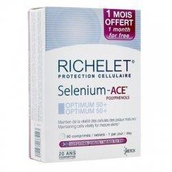 Selenium Ace Optimum 50+ - 90 comprimés +30 comprimés offerts