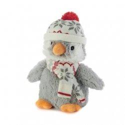 Bouillotte Peluche Micro-Onde Pingouin
