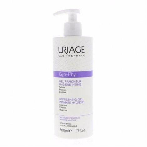 Uriage Gyn-Phy Gel Fraîcheur Hygiène Intime 500 ml pas cher, discount