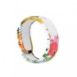 Parakito Bracelet Anti-Moustiques + 2 Plaquettes Flowery
