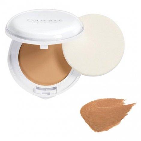 Avène Couvrance 04 Crème de Teint Compacte Texture Confort Peaux Sèches Confort Miel 10 G pas cher, discount