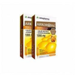 Arkopharma Trésor De La Ruche Gelée Royale Immunité 1000 mg 20 Ampoules x2 pas cher, discount