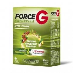 Nutrisanté Force G Naturelle Energie 56 Comprimés pas cher, discount