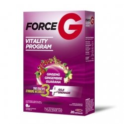 Nutrisanté Force G Vitality Program 30 Ampoules pas cher, discount