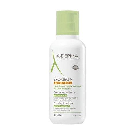 A-Derma Exomega Control Crème Emolliente Anti-Grattage 400 ml pas cher, discount