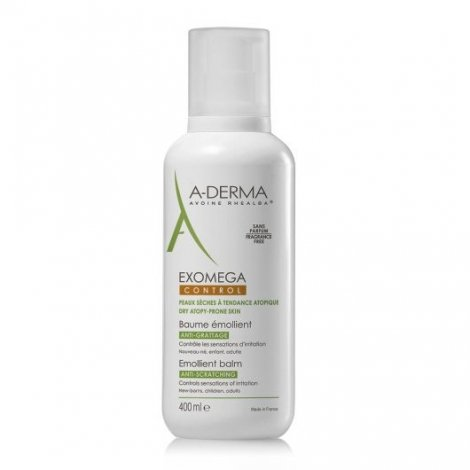 Aderma Exomega Control Baume Emollient Visage Corps 400ml pas cher, discount