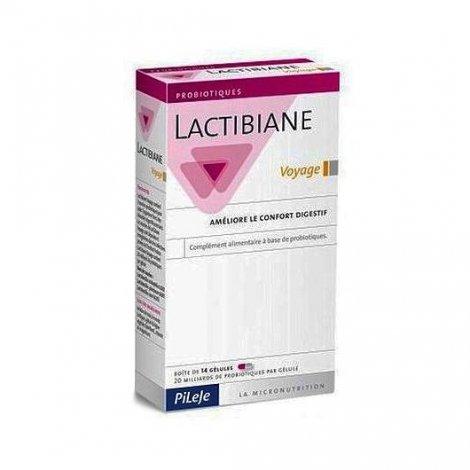 Pileje Lactibiane Voyage Confort Digestif 14 Gélules pas cher, discount