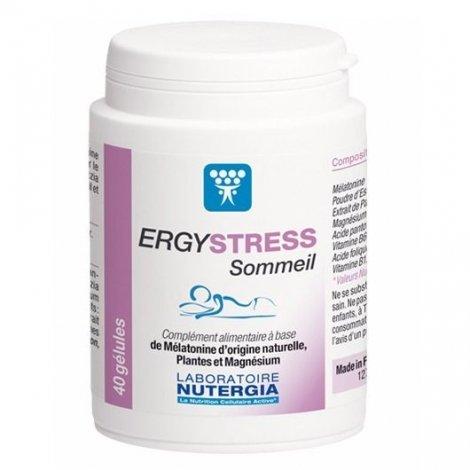 Nutergia Ergy Stress Sommeil 40 Gélules pas cher, discount