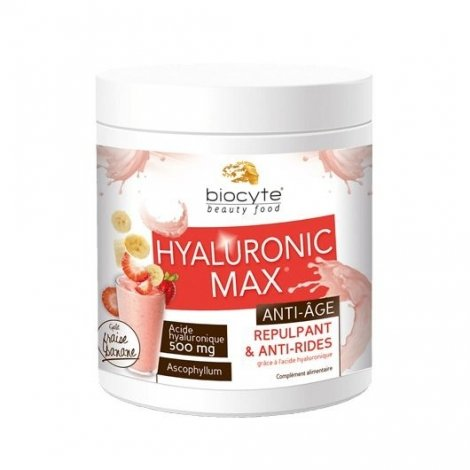 Biocyte Smoothie Hyaluronic Max Anti-Age Banane-Fraise 280g pas cher, discount