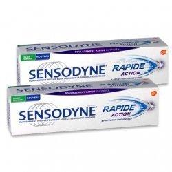 Sensodyne Dentifrice Rapide Action Sensibilité Dentaire 2x75 ml