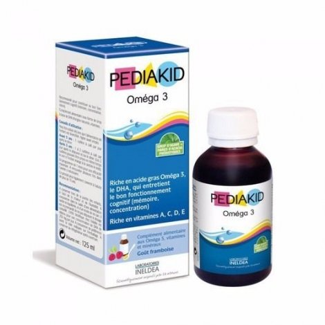 Pediakid Oméga 3 Sirop Enfant 125 ml pas cher, discount