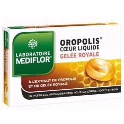Mediflor Oropolis Adoucissant Gorge Gelée Royale Citron 16 Pastilles pas cher, discount