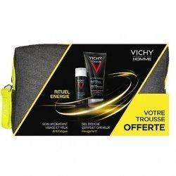 Vichy Homme Rituel Energie Trousse x2 Produits pas cher, discount