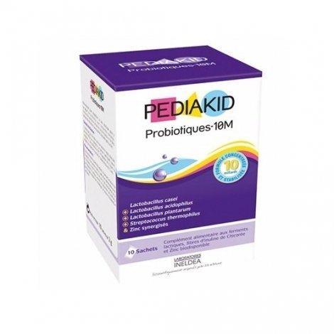 Pediakid Probiotiques 10M Digestion 10 Sachets pas cher, discount