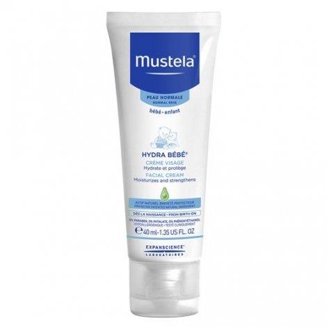 Mustela Bébé Crème Hydratante Visage Tube 40 ml pas cher, discount