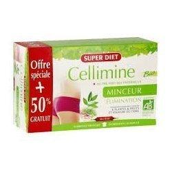 Superdiet Cellimine Bio Minceur et Elimination 20+10 Ampoules