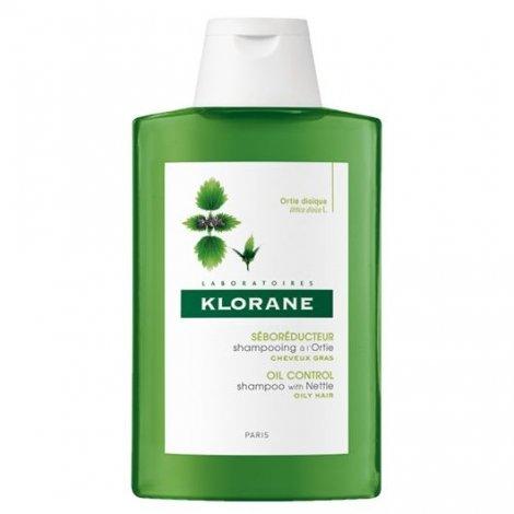 Klorane Shampooing Traitant Seboreducteur à l'Ortie 200 Ml pas cher, discount