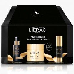 Liérac Premium Coffret Prestige Crème Soyeuse, Crème Regard et Sérum Régénérant pas cher, discount