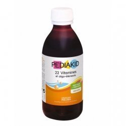 Ineldea Pediakid Sirop Vitamines Oligo-Elements 250ml