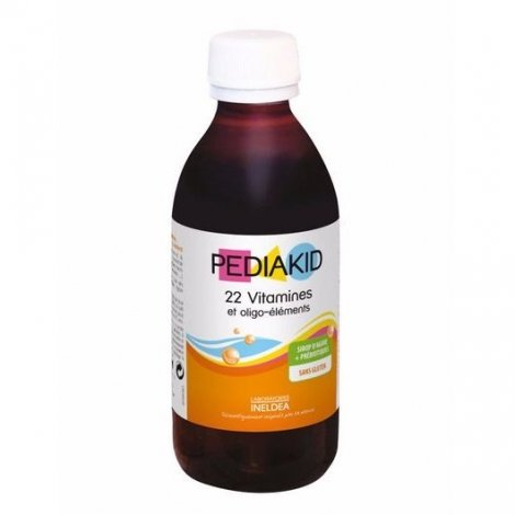 Ineldea Pediakid Sirop Vitamines Oligo-Elements 250ml pas cher, discount
