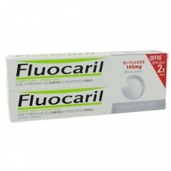 Fluocaril Dentifrice Blancheur bi-fluoré 145mg  2x75ml
