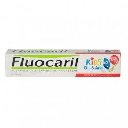 Fluocaril Dentifrice Kid 0/6 Ans Goût Fraise 50ml