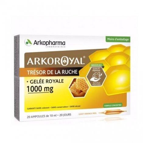 Arkopharma Arkoroyal Gelée Royale 1000mg x20 Ampoules pas cher, discount