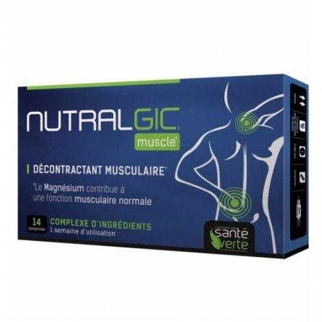 Santé Verte Nutralgic Muscle Décontractant Musculaire x14 Comprimés pas cher, discount