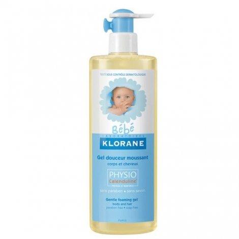 Klorane Bébé Gel Douceur Moussant Corps et Cheveux Flacon 500 ml pas cher, discount