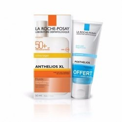 La Roche Posay Anthelios Fluide SPF50 50ml + Posthelios 40ml pas cher, discount