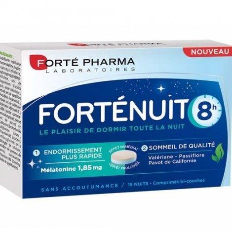 Forte Pharma Forté Nuit 8h x15 Comprimés pas cher, discount