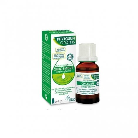Phytosun Aroms Huile Essentielle Gingembre 5ml pas cher, discount