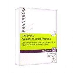 Pranarom Oleocaps 7 Sommeil et Stress Passager 30 Capsules