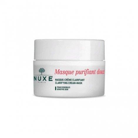 Nuxe Masque Purifiant Doux aux Pétales de Rose 50ml pas cher, discount