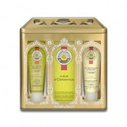 Roger Gallet Coffret Fleur d'Osmanthus : Eau Fraîche Parfumée, Gel Douche Fraîcheur Parfumée, Lait hydratant pas cher, discount