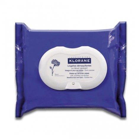 Klorane Yeux Lingettes Démaquillantes Au Bleuet x 25 pas cher, discount