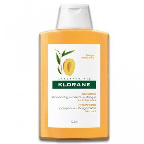 Klorane Capillaire Shampooing Traitant Nutritif au Beurre de Mangue 400 ml pas cher, discount