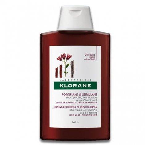 Klorane Capillaire Shampooing Traitant Fortifiant à la Quinine et aux Vitamines B 200 Ml pas cher, discount