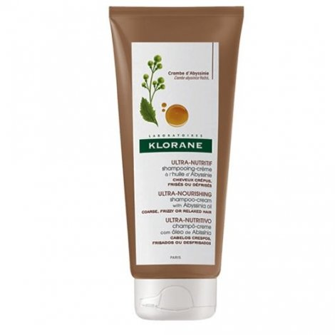 Klorane Cheveux Crépus Shampooing Crème à l'Huile d'Abyssinie 200 ml pas cher, discount