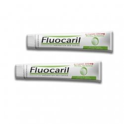 Fluocaril Bi-Fluoré 250 mg menthe Pâte Dentifrice 2 x 125 ml