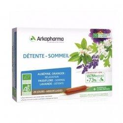 Arkopharma Arkofluides Détente Sommeil 20x15ml